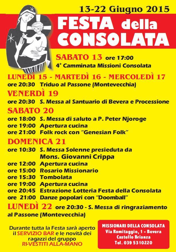 Festa della Consolata 2015